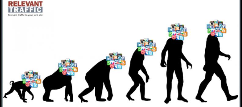 [Infografía] La evolución de las Redes Sociales